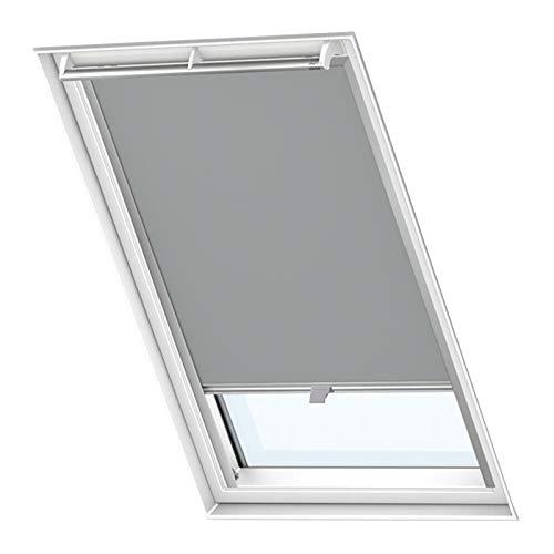 Froadp 104 Verdunkelungs Rollos Sonnenschutz Thermorollos Hitzeschutz Velux Jalousien für Dachfenster Fensterdekoration Springrollos GDL/GGL/GGU/GPL/GPU/GXU(39,7×77,4cm)