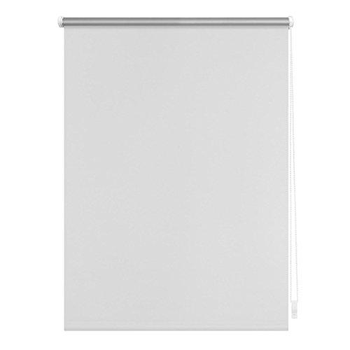 Lichtblick RKV.045.150.01 Thermo-Rollo Klemmfix, ohne Bohren, Verdunkelung Weiß, 45 cm x 150 cm (B x L)