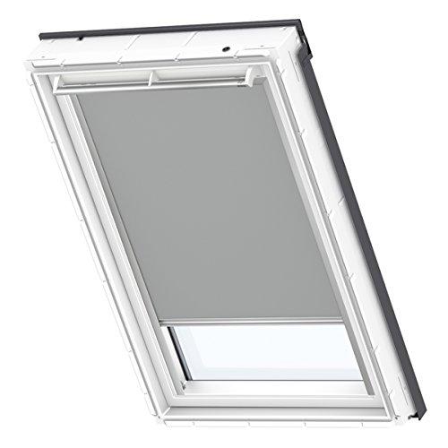 VELUX Original Verdunkelungsrollo für Dachfenster, MK06, Uni Grau