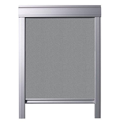 ITZALA Einfaches Verdunkelungsrollo kompatibel mit VELUX Dachfenstern, M06, 306, Grau